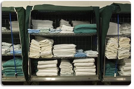 Goodwill Laundry & Linen offers Cart Makeup and Distribution Services